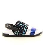 Jeannot damesschoenen sandaal blauw 12252