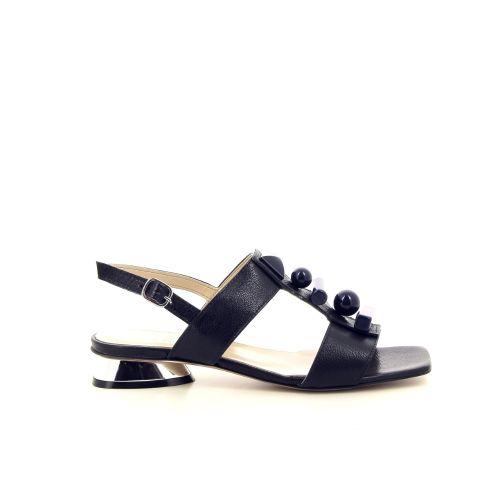 Jeannot solden sandaal donkerblauw 195065