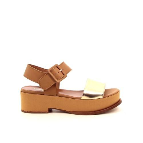 Jeannot solden sandaal naturel 172477