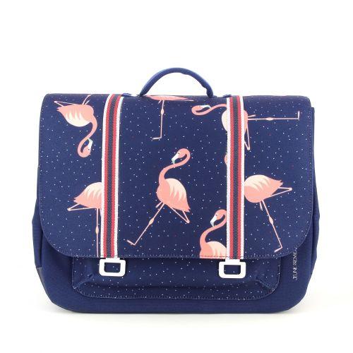 Jeune premier tassen boekentas donkerblauw 197468