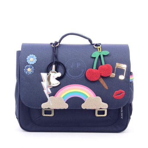 Jeune premier tassen boekentas donkerblauw 207099