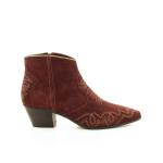 Julie dee damesschoenen boots rood 20541
