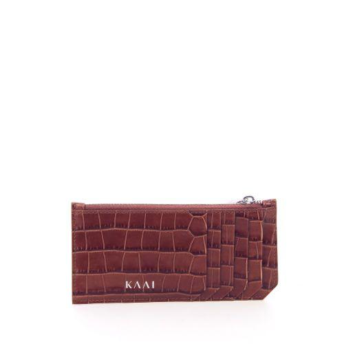 Kaai accessoires portefeuille cognac 204267