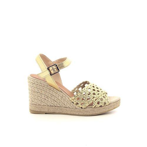 Kanna damesschoenen sandaal goud 195755