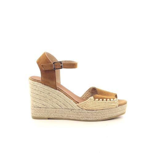 Kanna damesschoenen sandaal naturel 195756