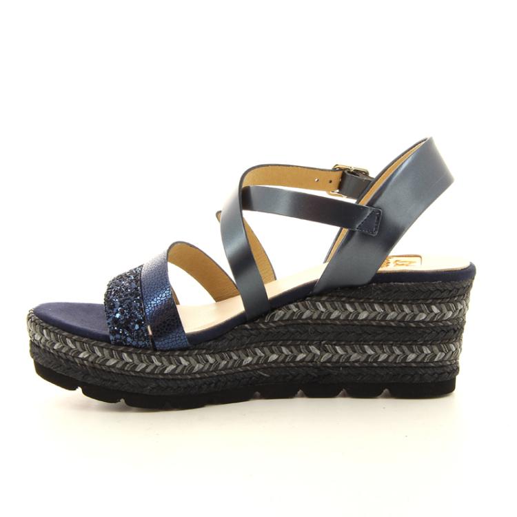 Kanna damesschoenen sandaal donkerblauw 98889