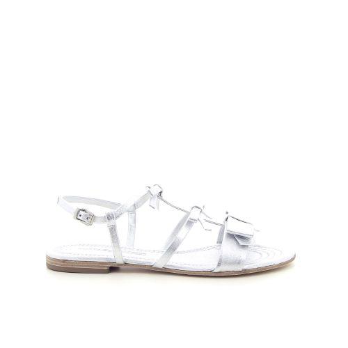 Kennel & schmenger damesschoenen sandaal matzilver 193425