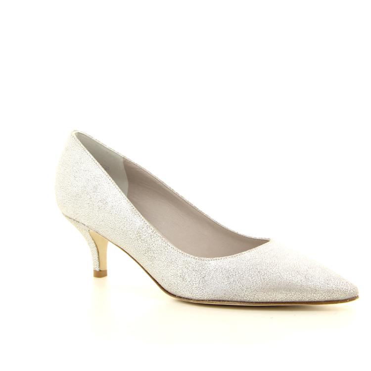 Kennel & schmenger damesschoenen pump zilver 10319