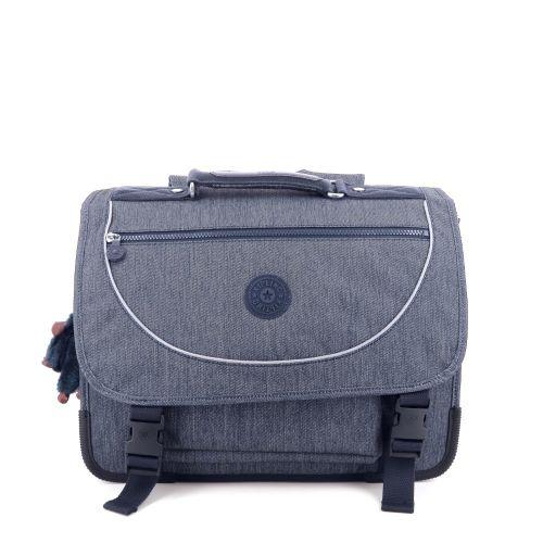 Kipling tassen boekentas jeansblauw 207704