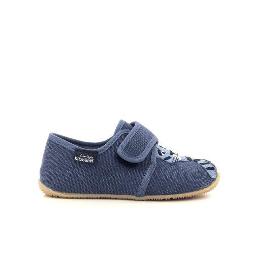 Kitzbuhel  pantoffel blauw 204747