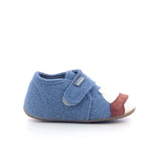 Kitzbuhel  pantoffel blauw 210892