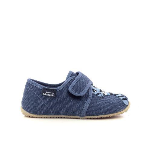 Kitzbuhel  pantoffel blauw 213559