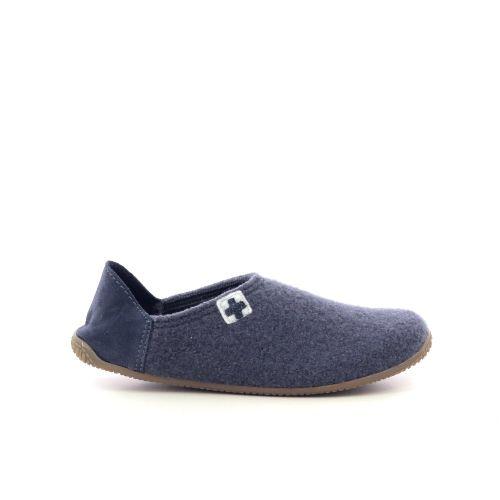Kitzbuhel damesschoenen pantoffel jeansblauw 218885