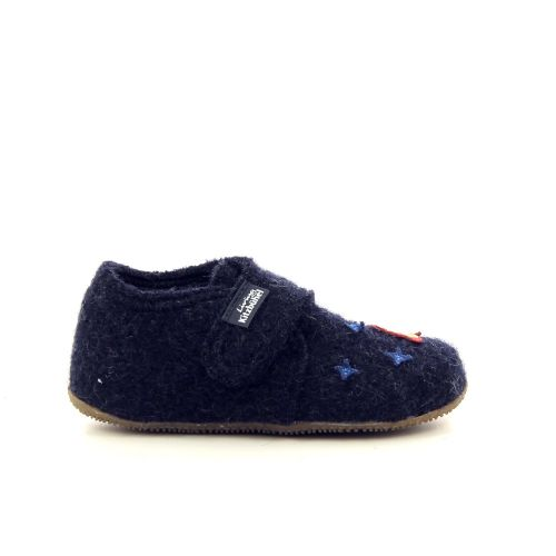 Kitzbuhel  pantoffel donkerblauw 189373