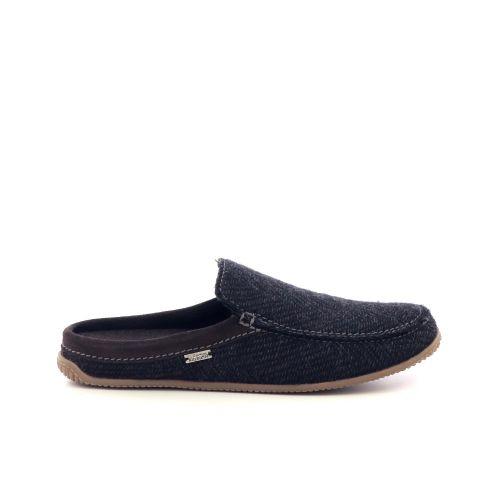 Kitzbuhel herenschoenen pantoffel d.bruin 218891