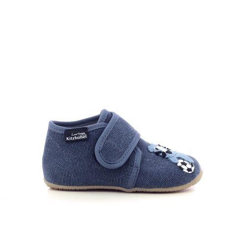 Kitzbuhel kinderschoenen pantoffel blauw 213545