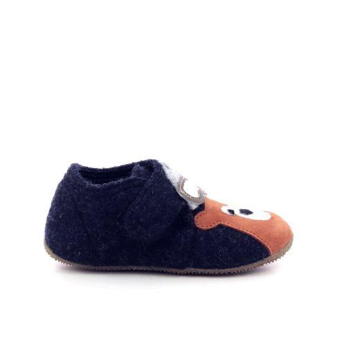 Kitzbuhel kinderschoenen pantoffel donkerblauw 199826