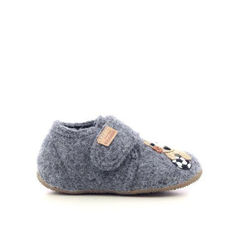 Kitzbuhel kinderschoenen pantoffel grijs 218709