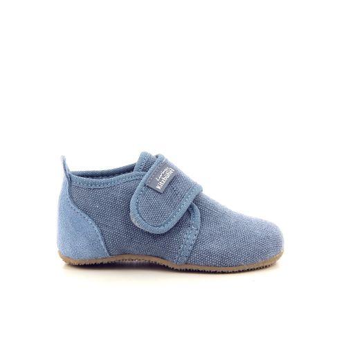 Kitzbuhel kinderschoenen pantoffel jeansblauw 194449