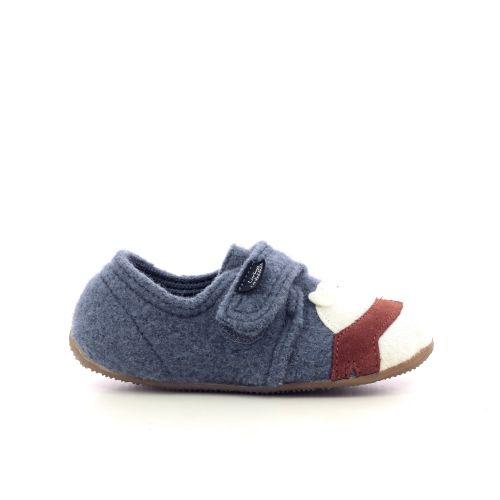 Kitzbuhel kinderschoenen pantoffel jeansblauw 218705