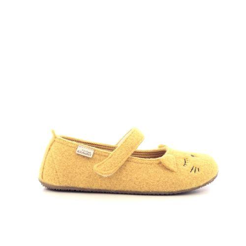 Kitzbuhel  pantoffel okergeel 210886