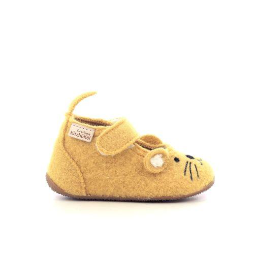 Kitzbuhel  pantoffel okergeel 210887