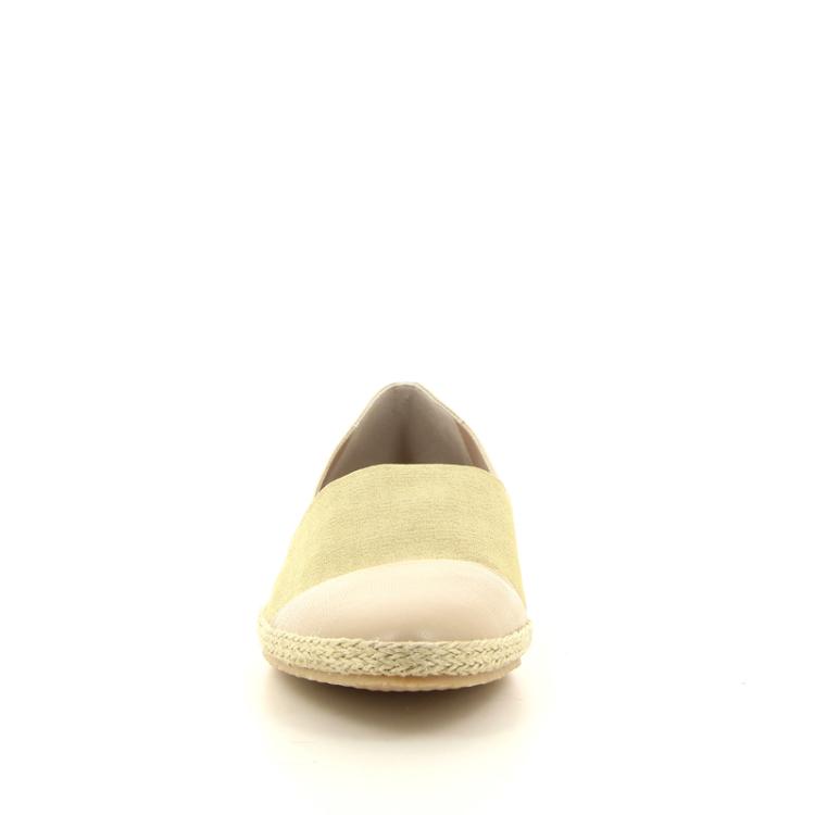 La badia damesschoenen espadrille camelbeige 98694