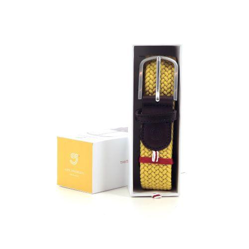 La boucle accessoires riem geel 216463