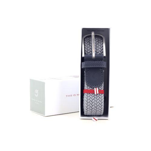 La boucle accessoires riem grijs 218576