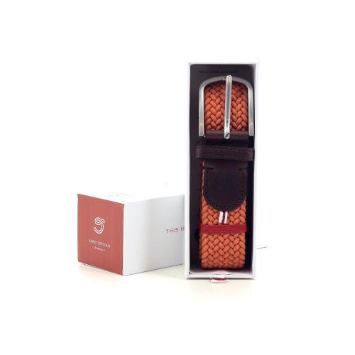 La boucle accessoires riem oranje 216459