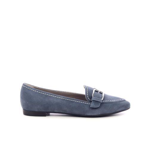 La cabala damesschoenen mocassin jeansblauw 214940