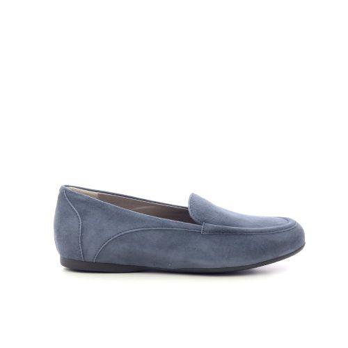 La cabala damesschoenen mocassin jeansblauw 214944