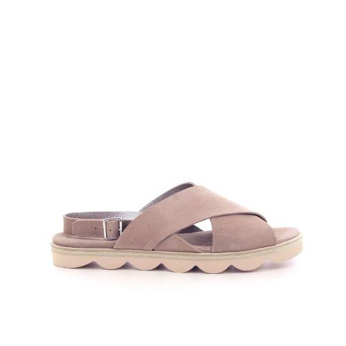 La cabala damesschoenen sandaal naturel 205590