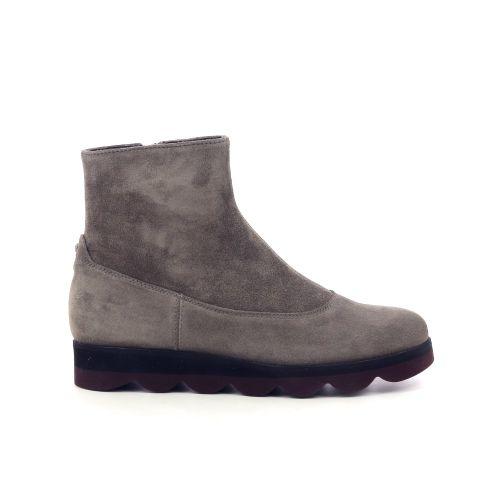 La cabala damesschoenen boots taupe 209857