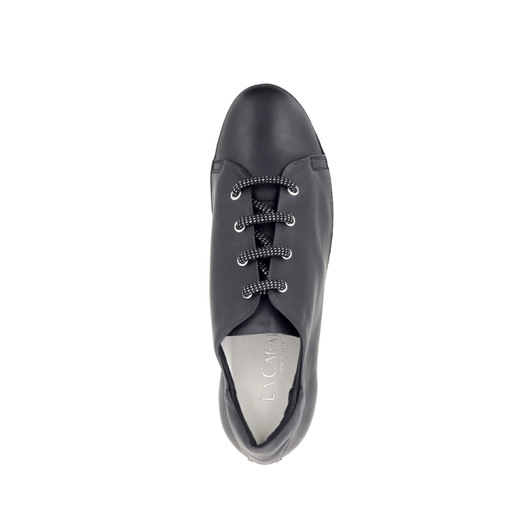 La cabala damesschoenen sneaker zwart 192367