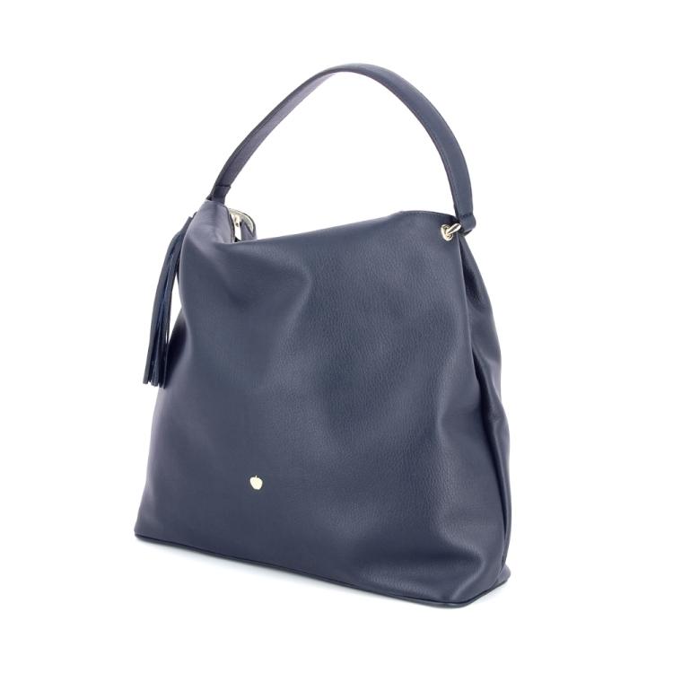 La pomme tassen handtas donkerblauw 180119
