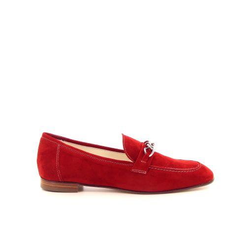 La ross damesschoenen mocassin rood 182829