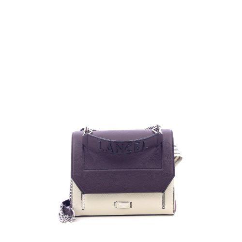 Lancel  handtas lila 215239