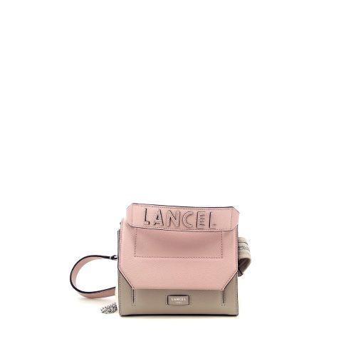 Lancel  handtas lila 215241