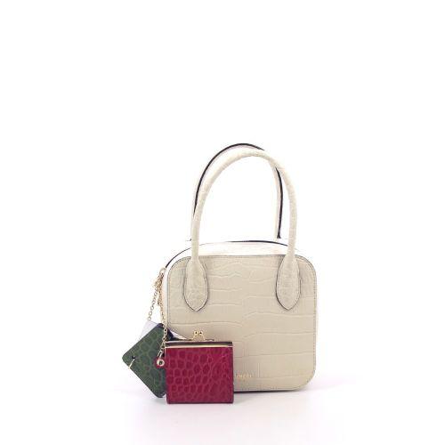 Lancel tassen handtas ecru 208065