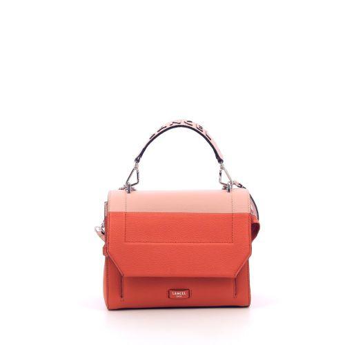 Lancel tassen handtas oranje 203098