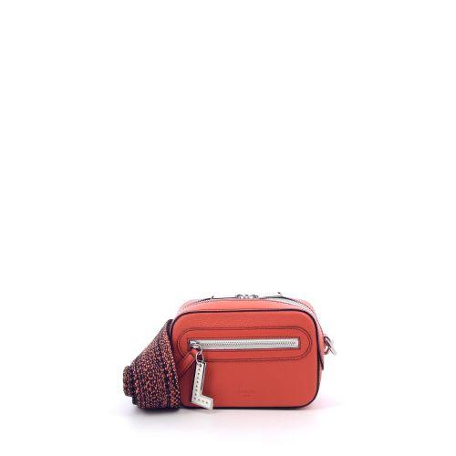 Lancel tassen handtas oranje 203107