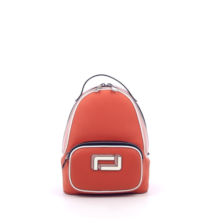 Lancel tassen handtas oranje 203116