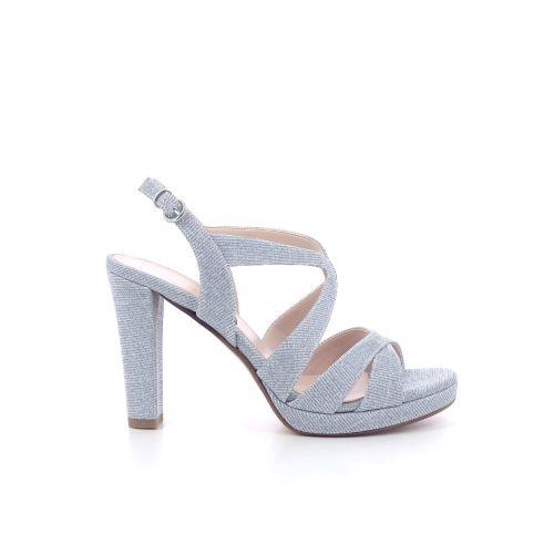 Lara may damesschoenen sandaal zilver 216097