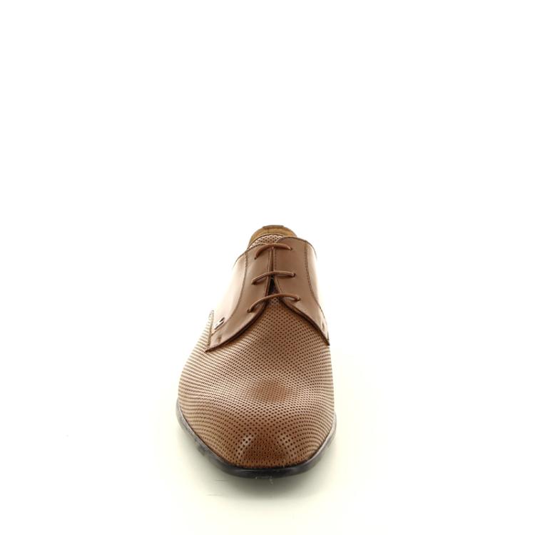 Moreschi herenschoenen veterschoen cognac 12149