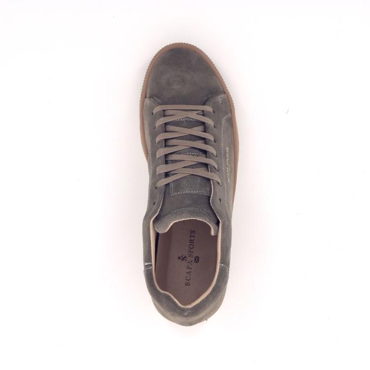 Scapa scarpe herenschoenen veterschoen taupe 188408