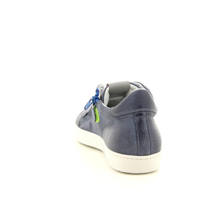Rondinella kinderschoenen veterschoen blauw 98312
