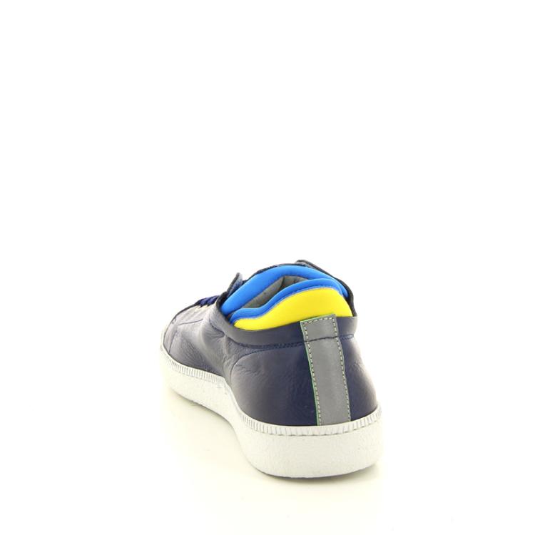 Rondinella kinderschoenen veterschoen donkerblauw 11021