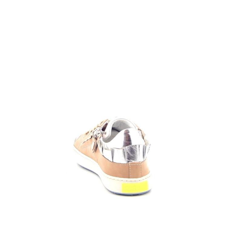 Rondinella kinderschoenen veterschoen licht naturel 170429