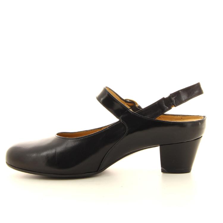Platino damesschoenen sandaal zwart 14252